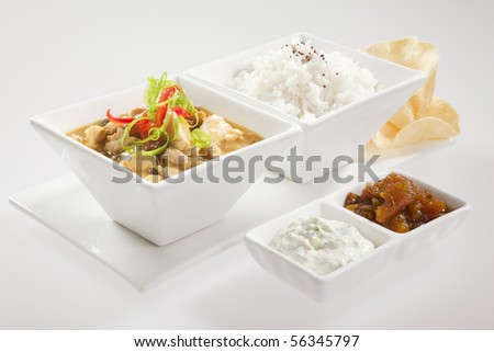 SWEET CHICKEN CURRY