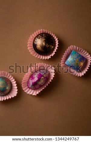 sweet chocolate bon-bon