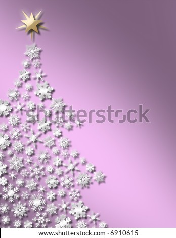 Sweet Christmas Tree Background