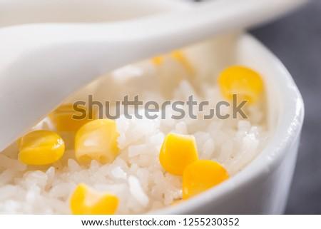 Sweet corn miscellaneous rice #1255230352