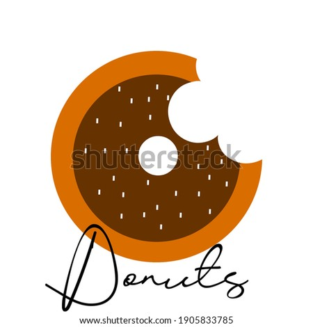 sweet donut wallpaper icon to be used as a pamphlet atw wallpaper on the mobile phone Zdjęcia stock ©
