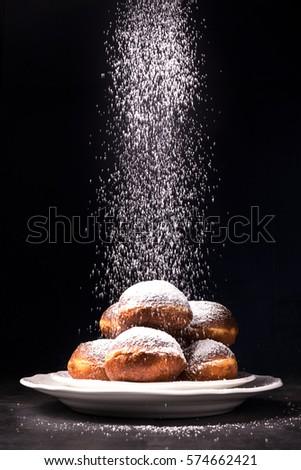 sweet doughnuts Zdjęcia stock ©