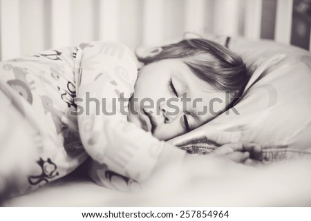 sweet dreams of the toddler sweet girl
