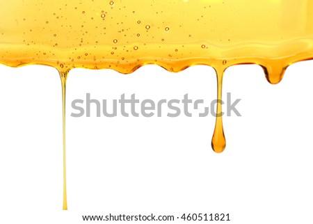 Sweet honey drips seamless vector #460511821