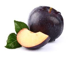 Sweet juicy plum