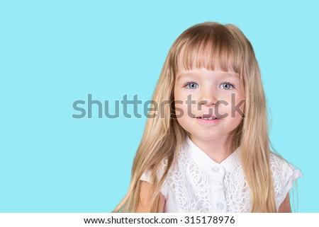 Sweet little girl #315178976