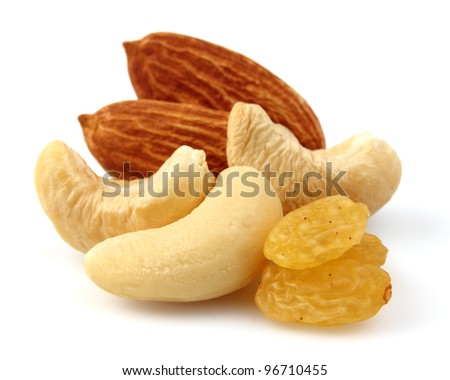 Sweet nuts and fruit