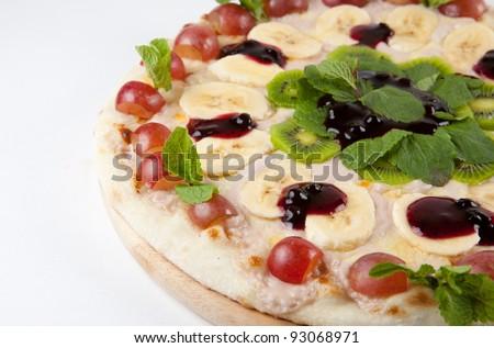 Sweet pizza