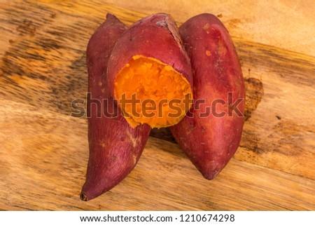Sweet potato, sweet potato, sweet potato #1210674298