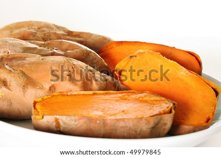 sweet potatoes angle