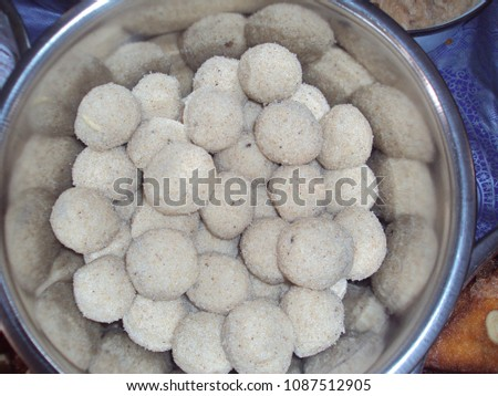 Sweet ravva laddu #1087512905