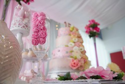 Sweet Sixteen Party, decoration and food
