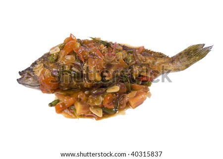 sweet sour and spicy fish