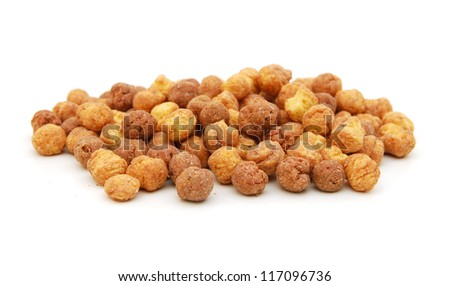 Sweeteted crunchy corn cereal made with real peanut butter and cocoa