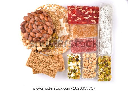 Sweetness of the Prophet's birthday Al Mawlid Al Nabawi Traditional Sweets EGYPT Egyptian Traditional Sweets of Prophet Muhammad Birthday Celebration Eastern sweets