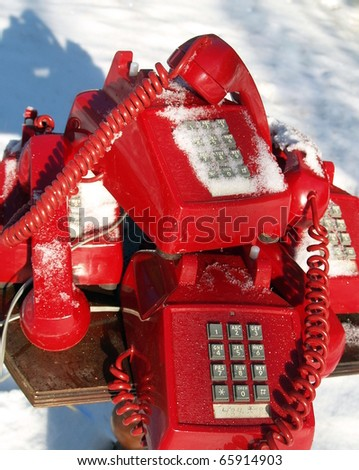 "Swicthboard at the North Pole: ""We are sorry, call volume is higher than usual so wait time may be longer than normal"""