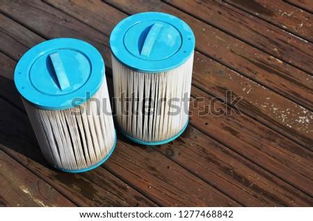 Swim spa filters #1277468842