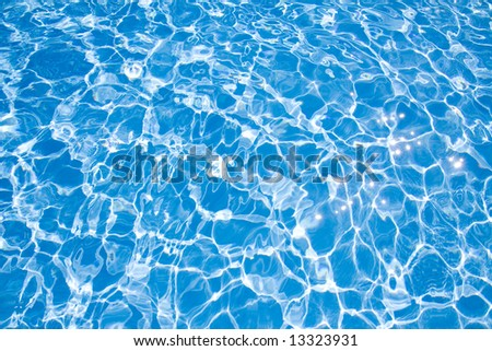 Swimming pool detail.