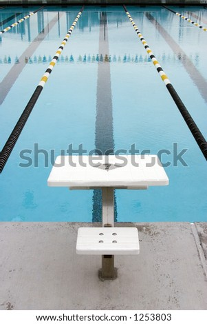 swimming pool for competitions