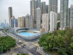 Swimming Pool in Kennedy Town, Hong Kong