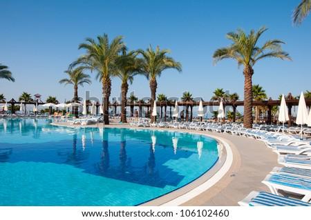 Swimming pool, Turkey