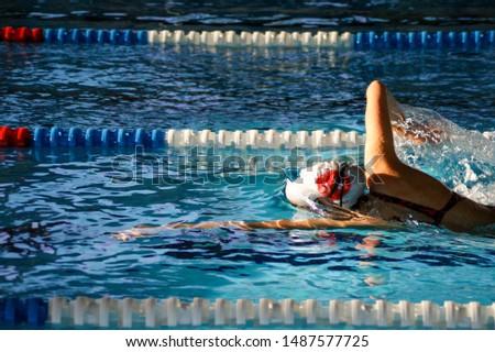 Swimming - swimming meet imagens and open water - triathlon #1487577725