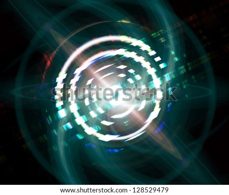 swirl abstract shiny illustration background