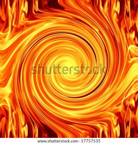 swirl fire flame