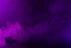 Swirling pink/magenta/purple fog on hazy dark background.