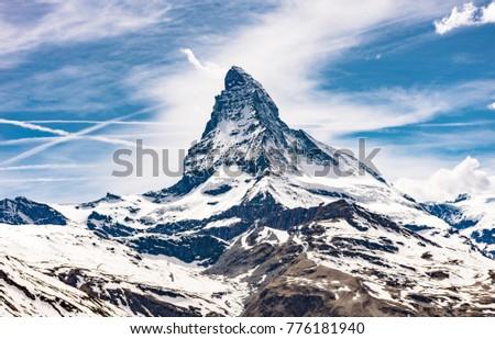 Swiss Alps Matterhorn