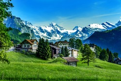 Swiss Alps with Jungfraujoch