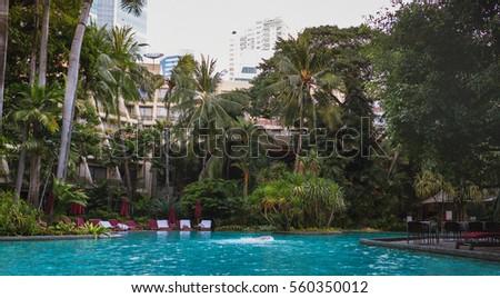 swiss hotel in bangkok  nice...