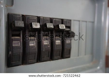 switch electrical safety circuit breaker box
