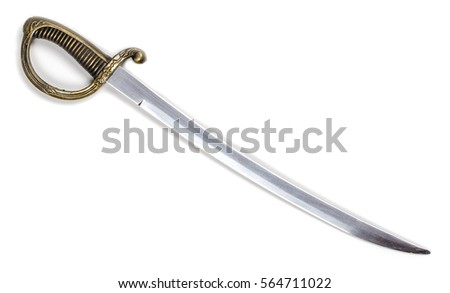 sword isolated on white background #564711022