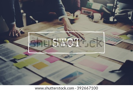 SWOT Analysis Business Strategy Planning Concept
