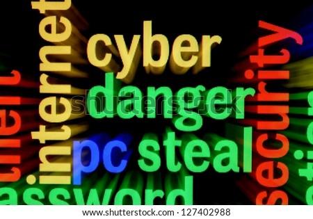 Syber  danger steal