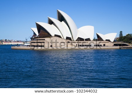 SYDNEY, AUSTRALIA - MARCH 22: Sydney's most famous icon, the Sydney Opera House on March 22,2012 in Sydney, Australia. The Opera House will celebrate its 40th anniversary in 2013.