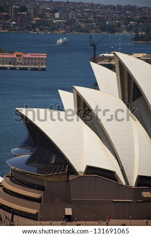 SYDNEY - DECEMBER 29: The Iconic Sydney Opera House is a moulti-venue performing arts centre also containing bars and outdoor restaurants. December 29, 2009 in Sydney, Australia.