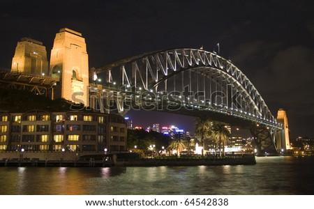 Sydney Harbour Bridge Night Shot