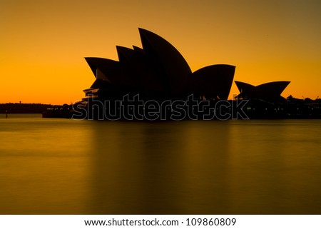 SYDNEY - MARCH 22: Sydney's most famous icon, the Sydney Opera House in the morning sunlight on March 22,2012 in Sydney, Australia. The Opera House will celebrate its 40th anniversary in 2013.