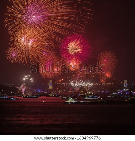 Sydney New Years eve Firework