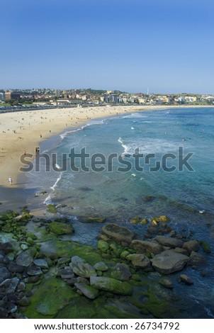 Sydney's famous Bondi beach