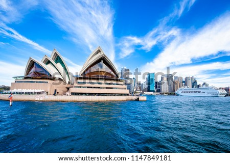 Sydney, Sydney / Australia - 07 14 2016 : Sydney Opera House #1147849181