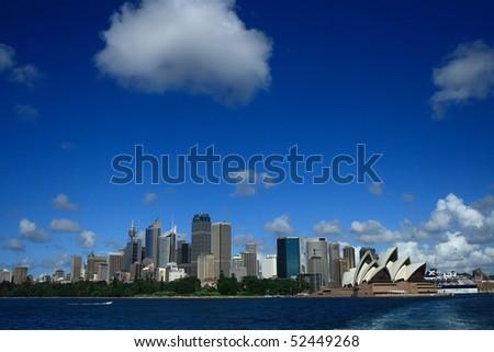 Sydney view.