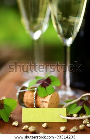 Symbol, four-leafed clover