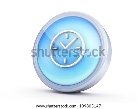 Symbol icon isolated on white background ,with clipping path.