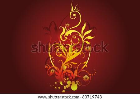 Symbol of a phoenix