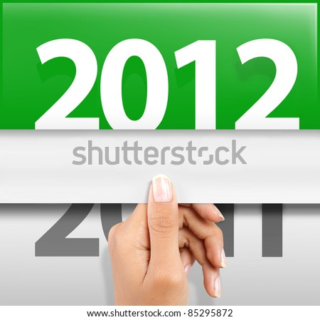 symbol of happy new year 2012