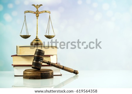 Symbol of law and justice