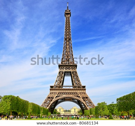 Symbol of Paris, France
